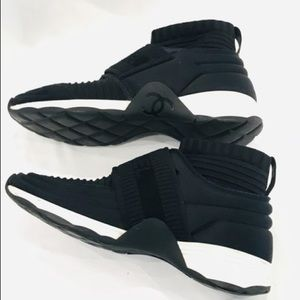 Stretch High Top Sock Trainer Sneakers